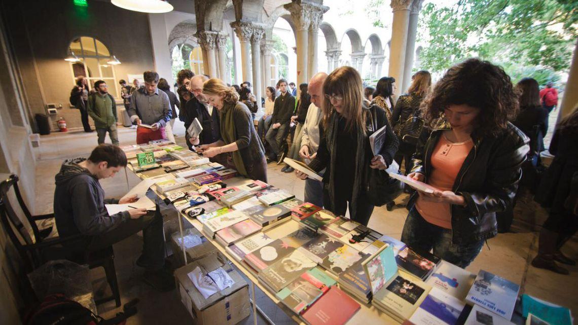 photo taken at book sale at filba 2018
