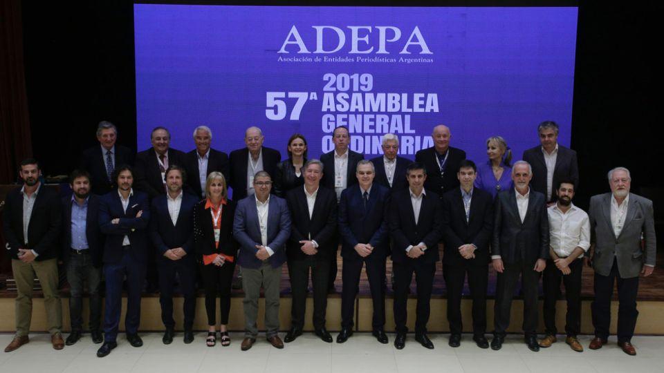 Consejo Ejecutivo de ADEPA 2019-2020.
