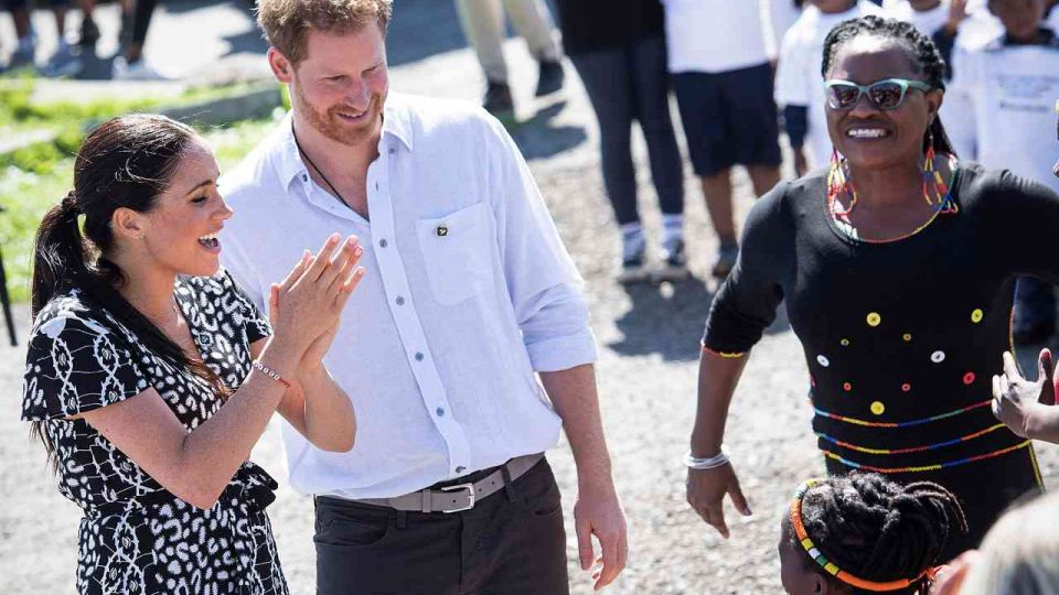 El príncipe Harry y Meghan Markle: todos los detalles sobre su viaje a África