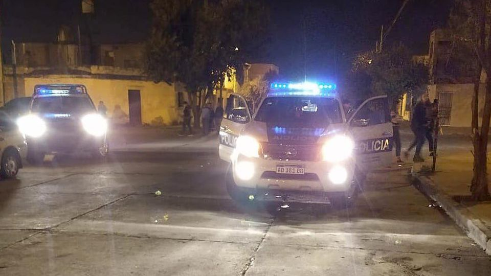 Patrulleros de la provincia de Salta.