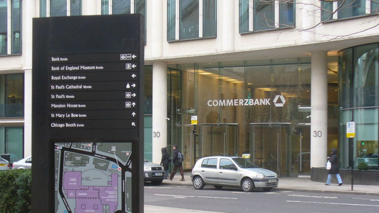 Commerzbank dijo la semana pasada que planea eliminar 4.300 puestos de trabajo.