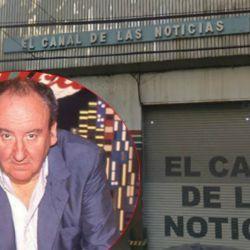 Héctor Ricardo García y el histórico edificio de Crónica