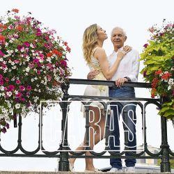 Las excéntricas vacaciones de Eduardo Costantini y su novia, Elina