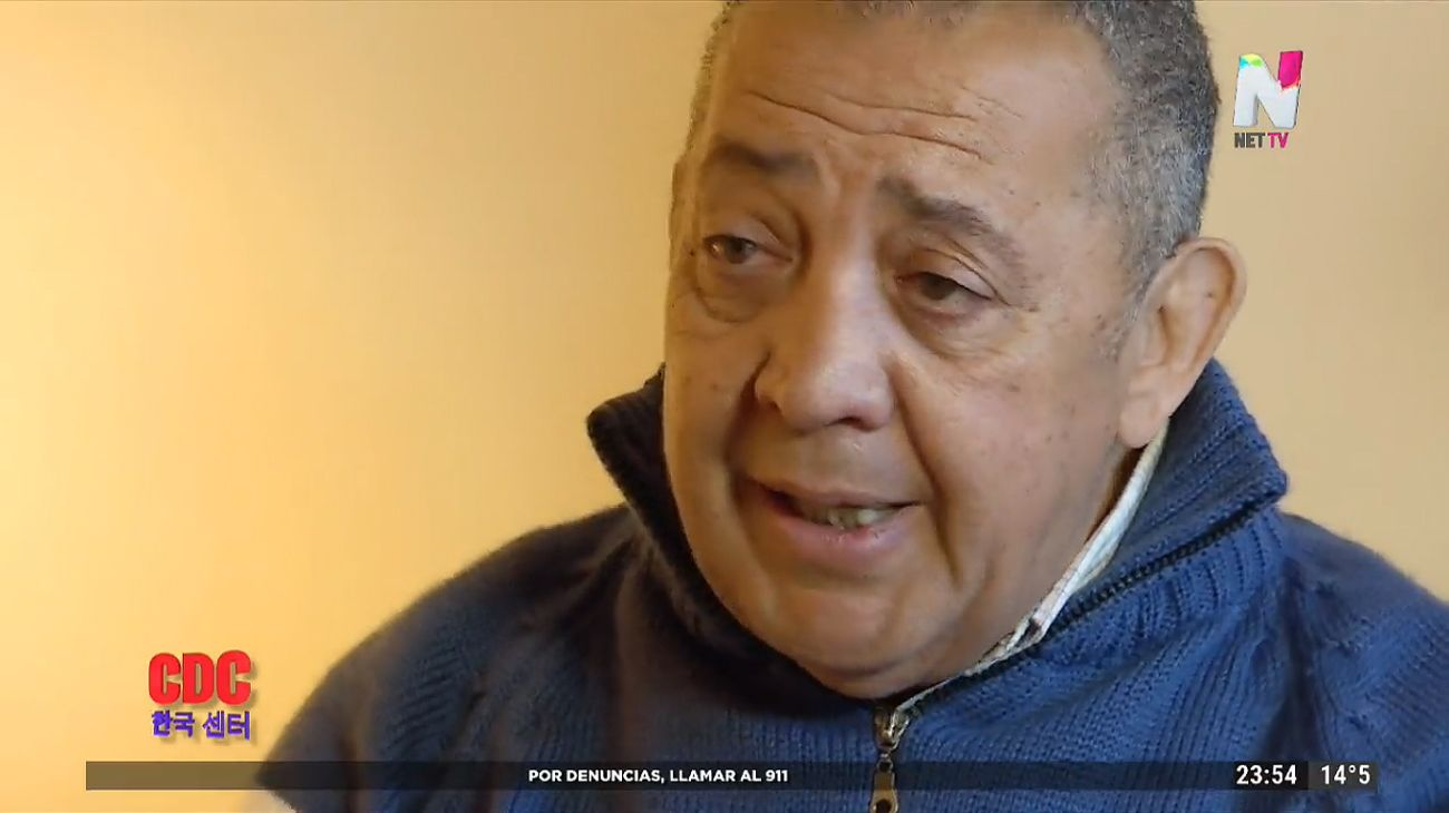 Luis D'Elía entrevistado por Ernesto Tenembaun en la cárcel.