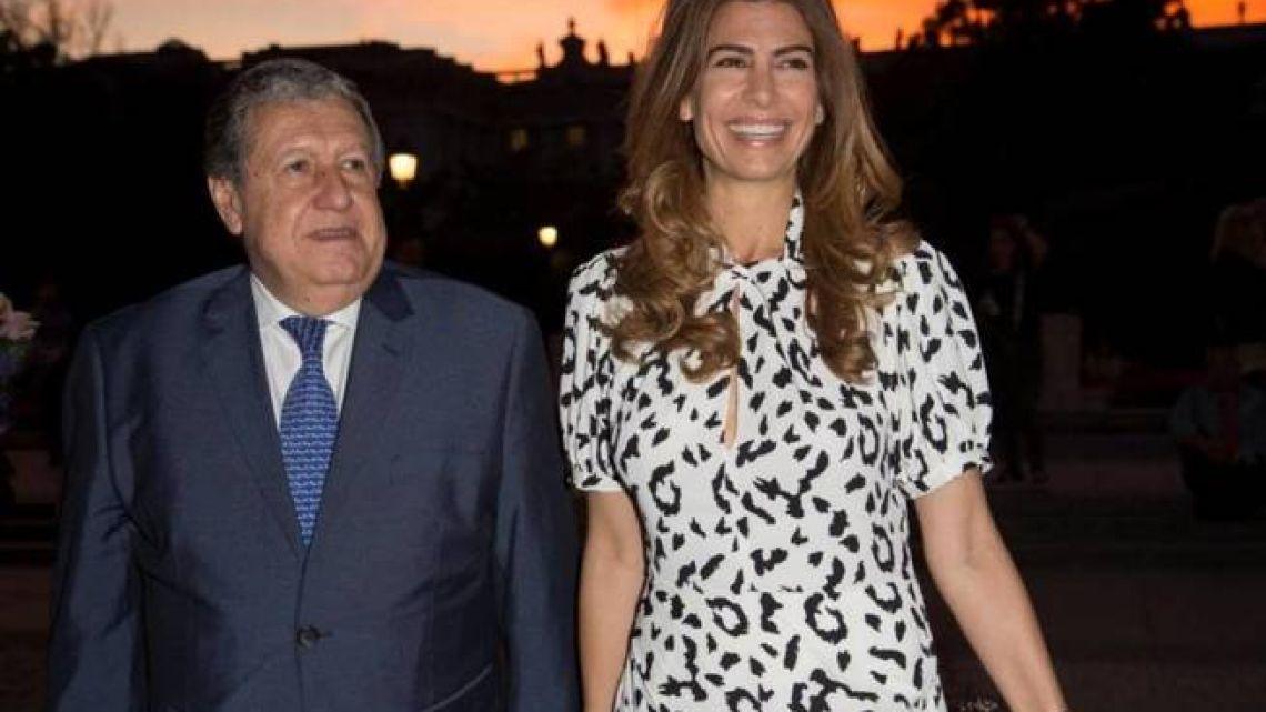 """Juliana Awada conquistó España con su look para la presentación de """"Únicos"""""""