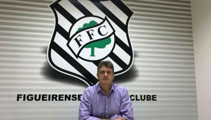 Claudio Honigman, presidente de la empresa Elephant, que gerenció al club brasileño Figueirense.