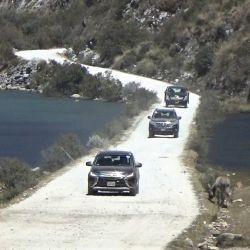 La travesía 4x4 se desarrolló entre las cordilleras Blanca y Negra del Perú, entre glaciares y lagunas color turquesa.