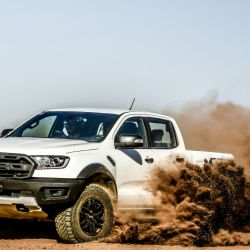 Probamos la Ford Ranger Raptor, ideal para competir en el Dakkar.