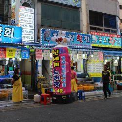 Busan es la segunda ciudad de Corea del Sur y se destaca por su aldea cultural y gigantesco mercado de pescadores.