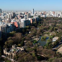 The former Buenos Aires City zoo, now known as Eco Parque.