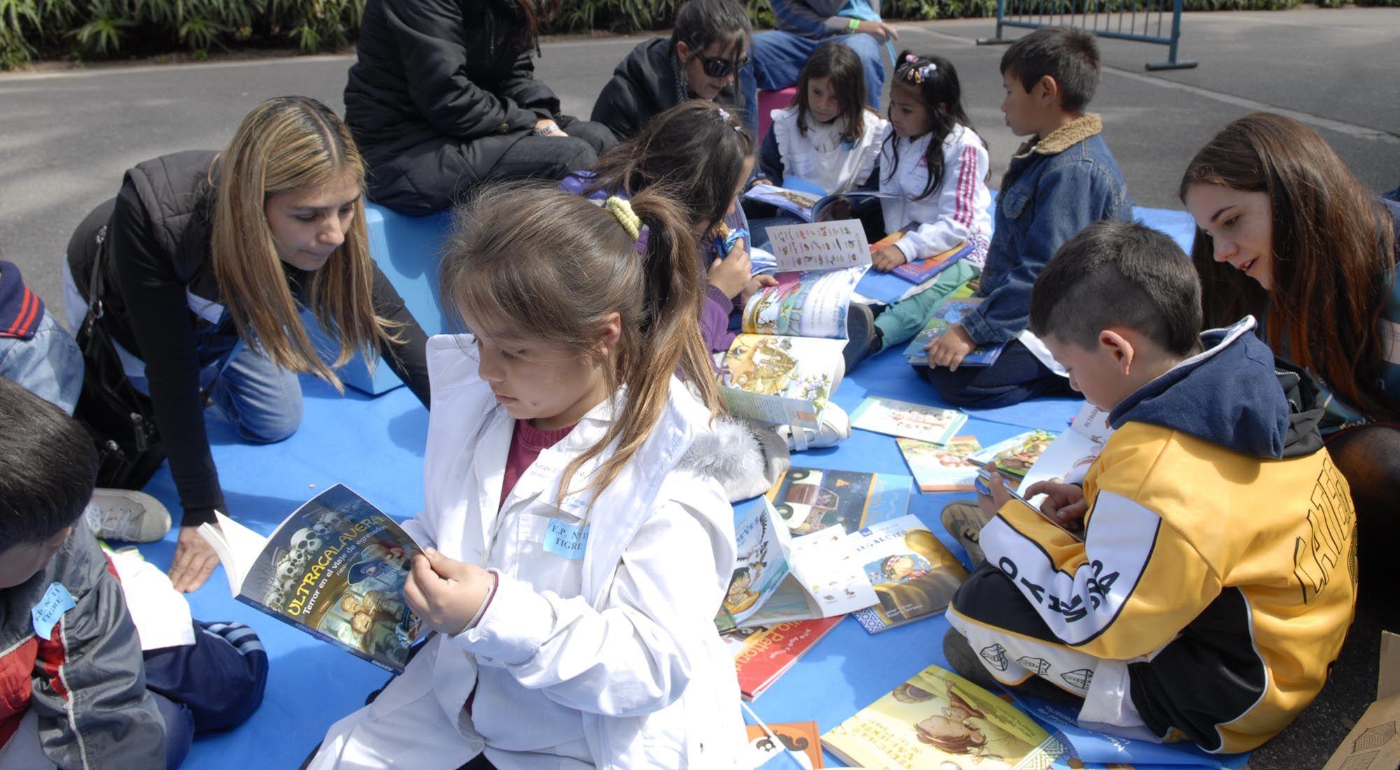 Maratón Nacional de Lectura.
