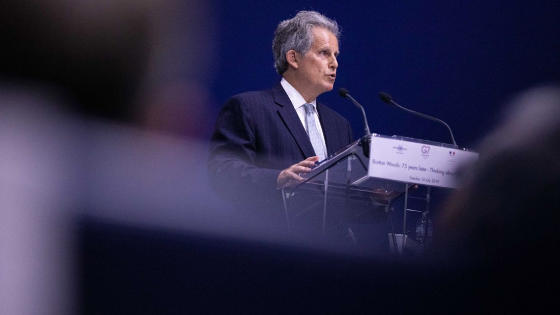 Acting IMF Managing Director David Lipton.