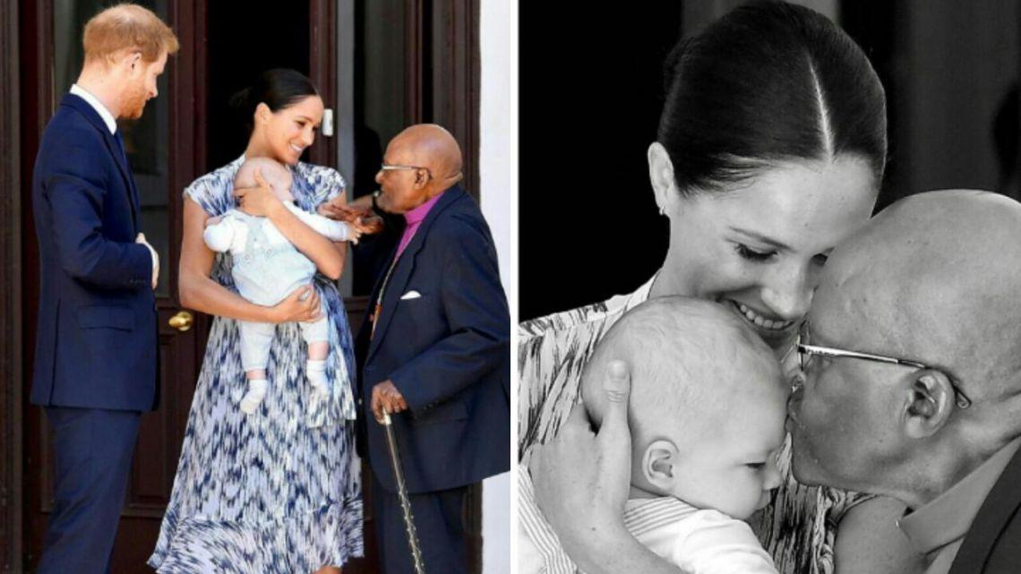 El video viral de Archie, el hijo de Meghan Markle y Harry, en Sudáfrica