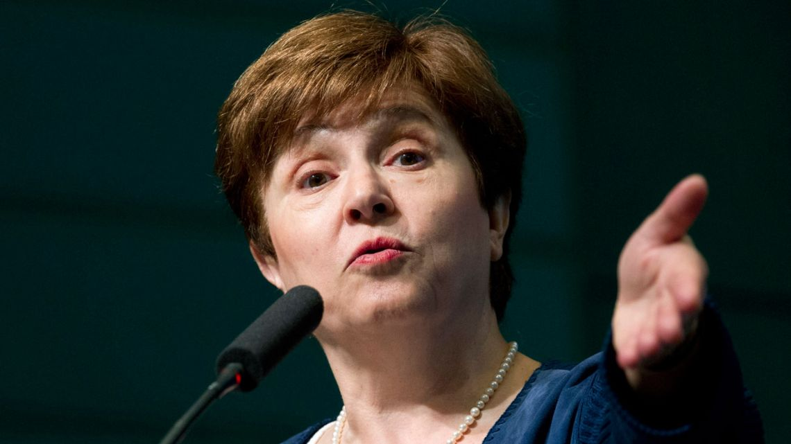 Kristalina Georgieva, a top official at the World Bank, was chosen by the IMF's executive board on Wednesday to become the IMF's managing director. She succeeds Christine Lagarde.
