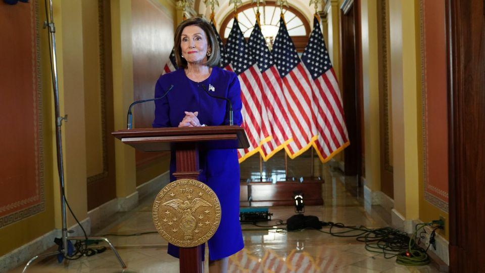 Pelosi Announces Formal Impeachment Inquiry