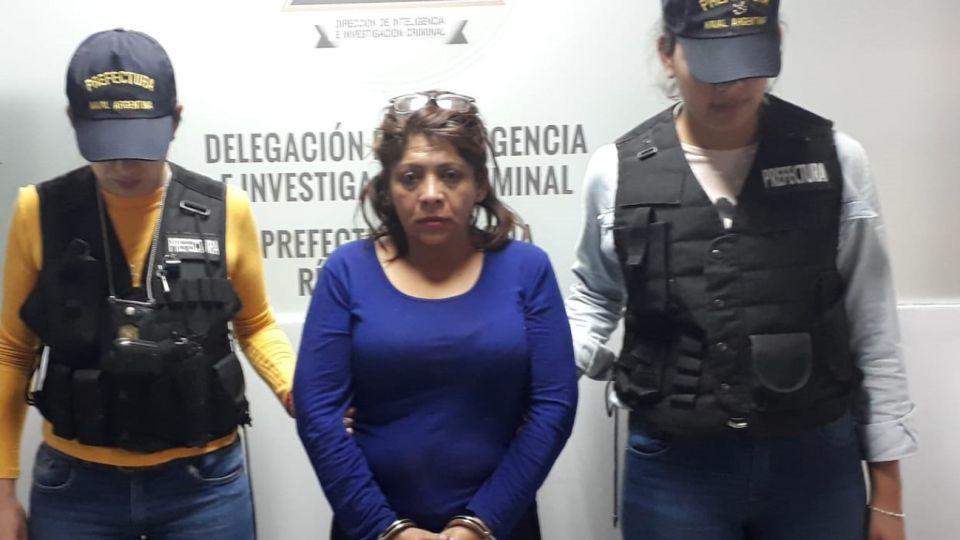Patricia Mabel López (48), quien figuraba en la lista de las 10 personas más buscadas del país.