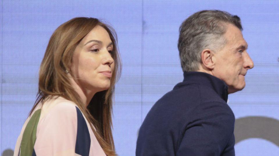 Vidal y Macri no se mostraron juntos en un acto de campaña desde el pasado 11 de agosto.