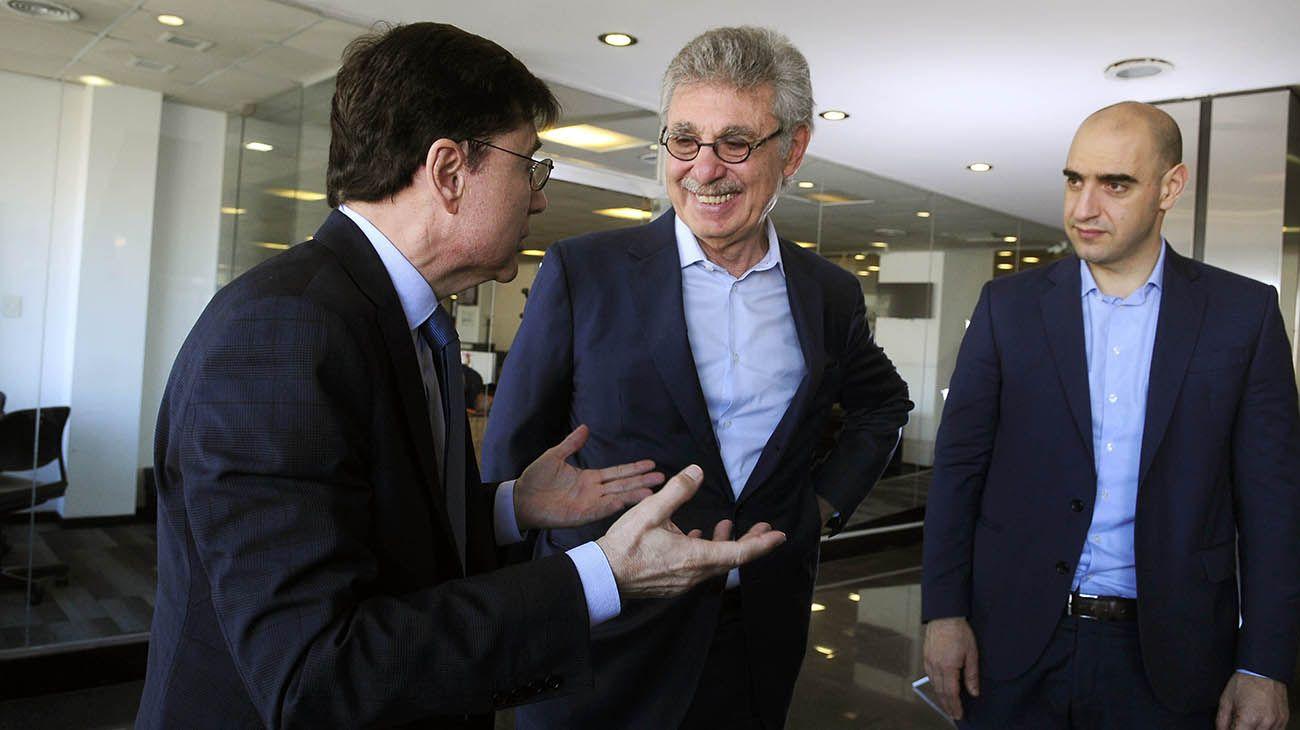 Entrevista de Jorge Fontevecchia a Hugo Sigman.