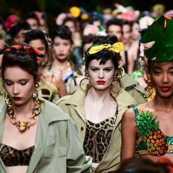 Los peinados y cortes que dejó la semana de la moda italiana