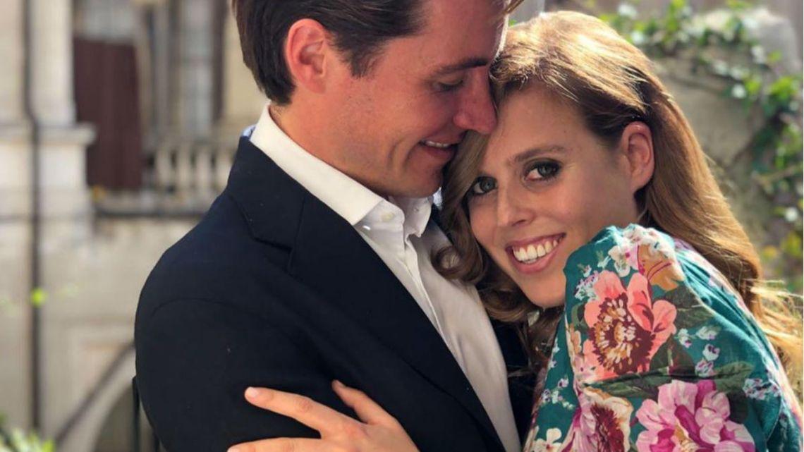 La Princesa Beatriz, junto a su prometido