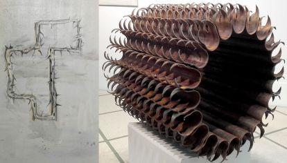 Las obras de Guillermo Kuitca y Luciana Lamothe, puestas en diálogo en la muestra Acople.