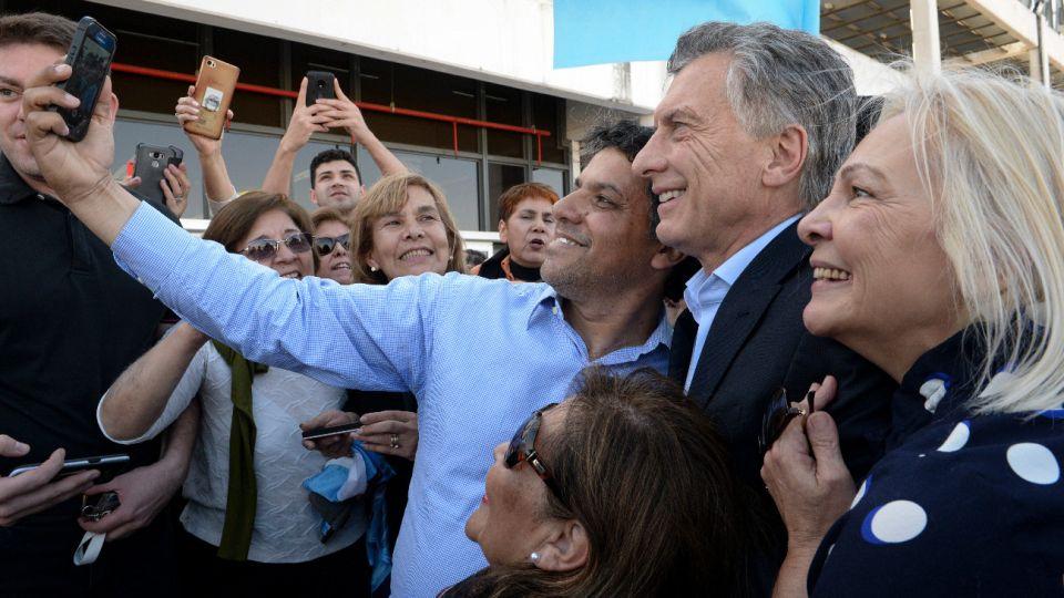 El presidente Mauricio Macri se prepara para el último tramo de campaña.