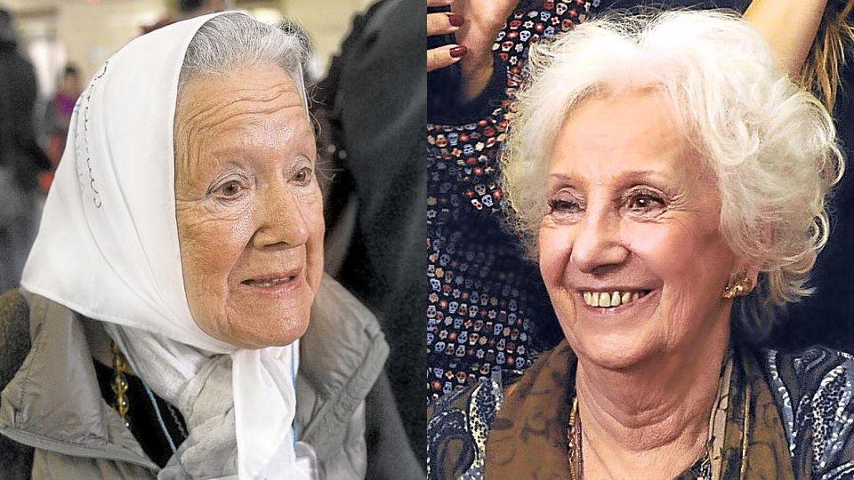 Nora Cortiñas y Estela Carlotto