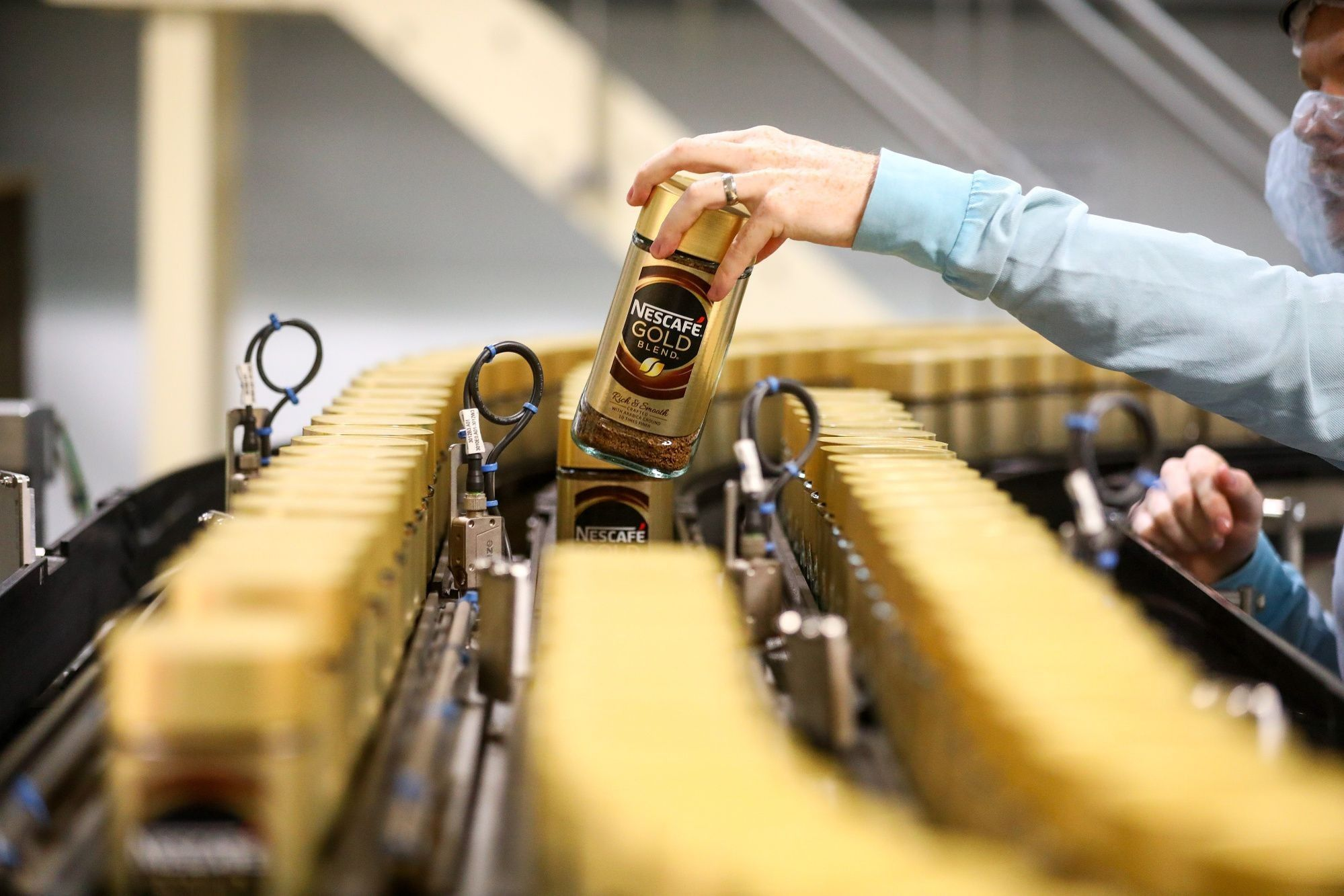 Nescafe Production As Coffee Stimulates Growth For Nestle SA