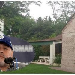 11 fotos de la nueva mansión de Maradona y su insólito pedido