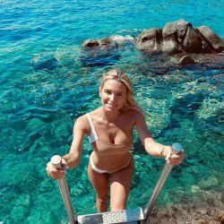 El increíble álbum de viaje de Sofía Zámolo por Europa