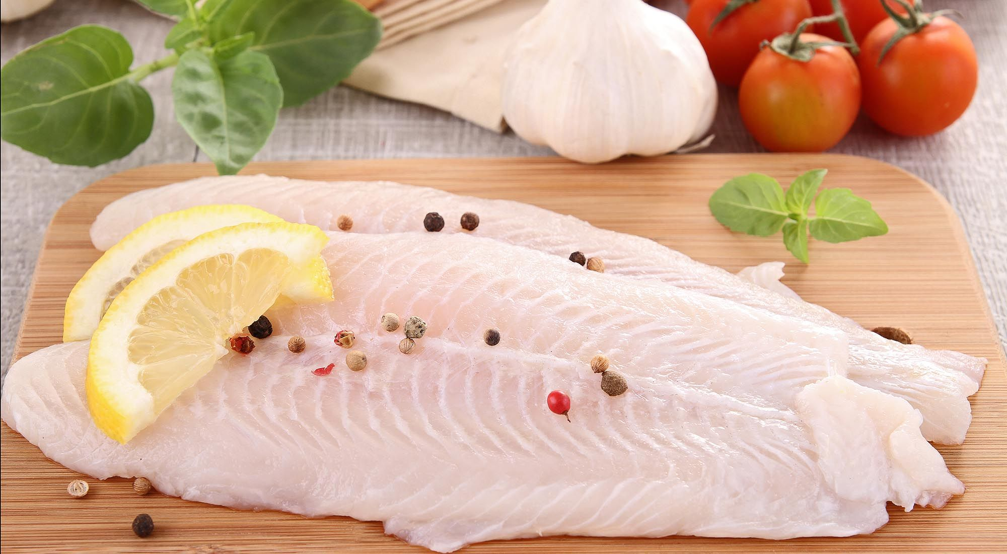 Filetes de pescado.