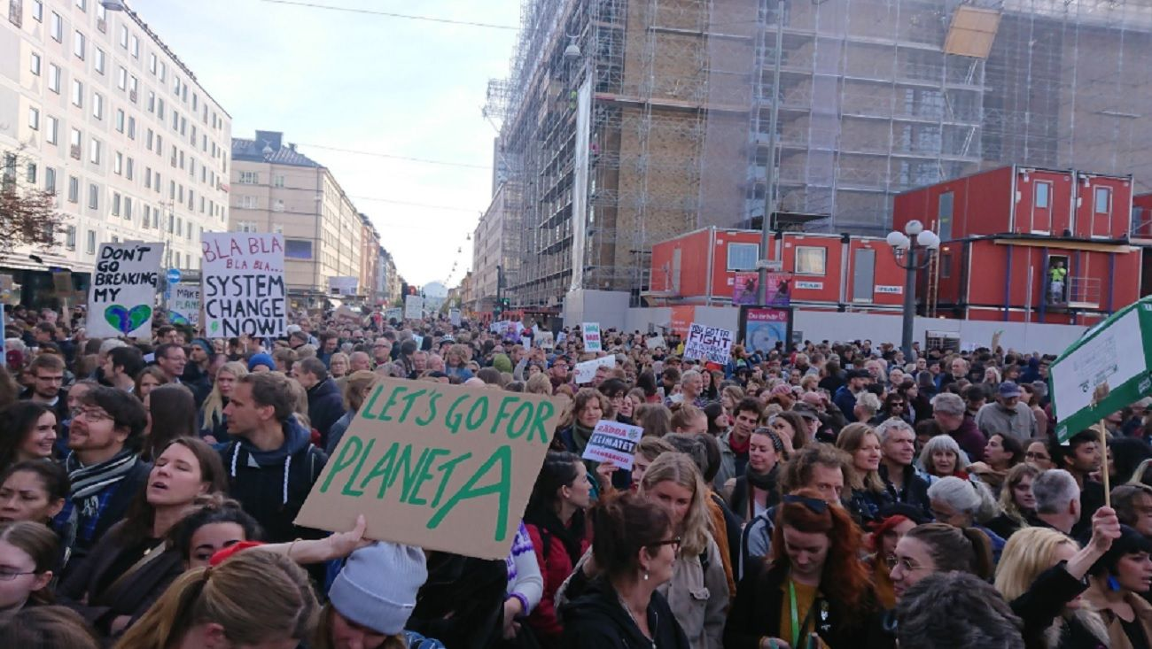 Marchas por el cambio climático en todo el mundo.
