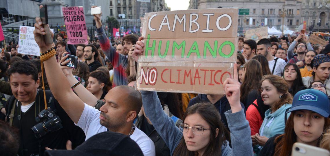 En fotos: así fue la marcha local contra el cambio climático