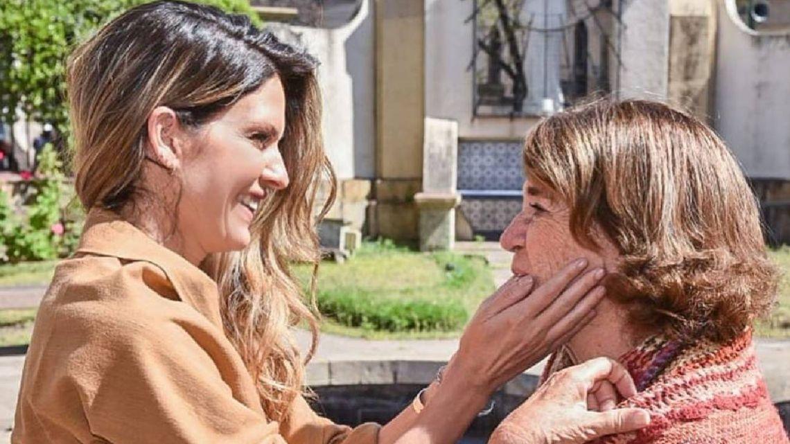 El emotivo mensaje de Isabel Macedo a su mamá, Lizzie