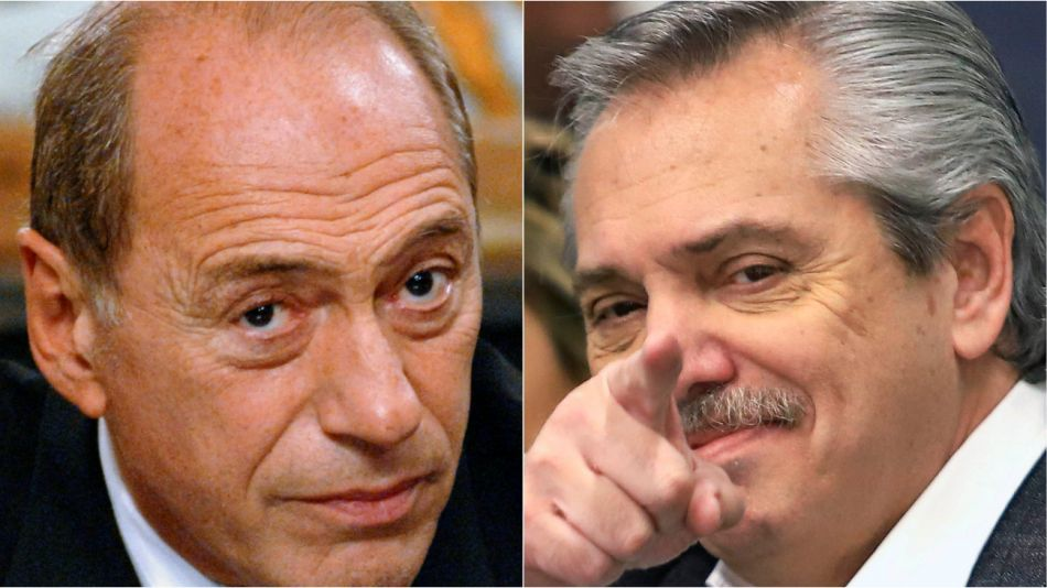 Eugenio Zaffaroni y Alberto Fernández.