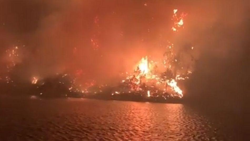 Incendio en Córdoba.