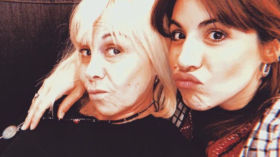 El conmovedor mensaje de Gianinna Maradana a su mamá, Claudia Villafañe