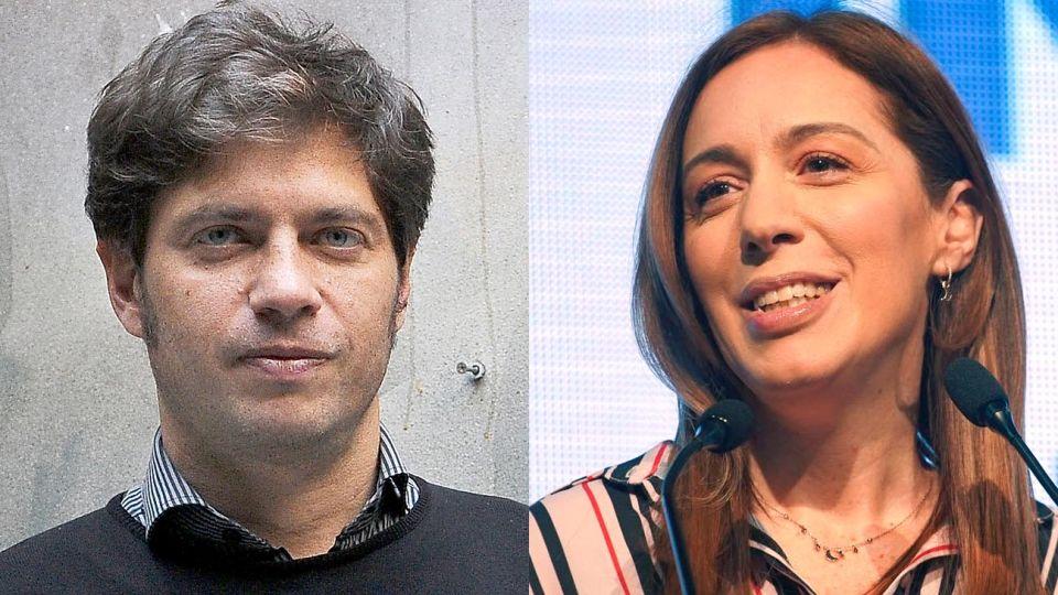 María Eugenia Vidal y Axel Kicillof