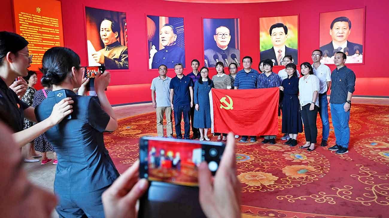 Aniversario. China celebró ayer los 70 años del Partido Comunista en el poder.