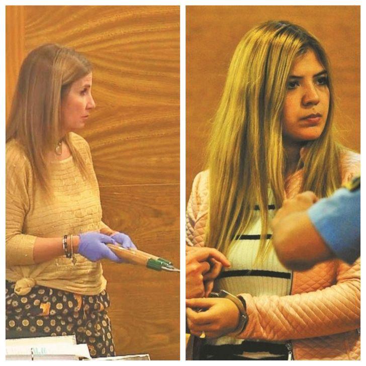 A FONDO. La fiscal Battistelli está convencida de que Brenda Barattini quiso matar a su amante. La joven recibió una pena de 13 años.