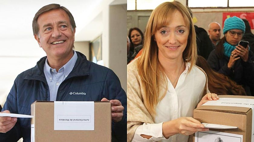 Alberto Fernández felicitó al nuevo gobernador de Mendoza, Rodolfo Suárez
