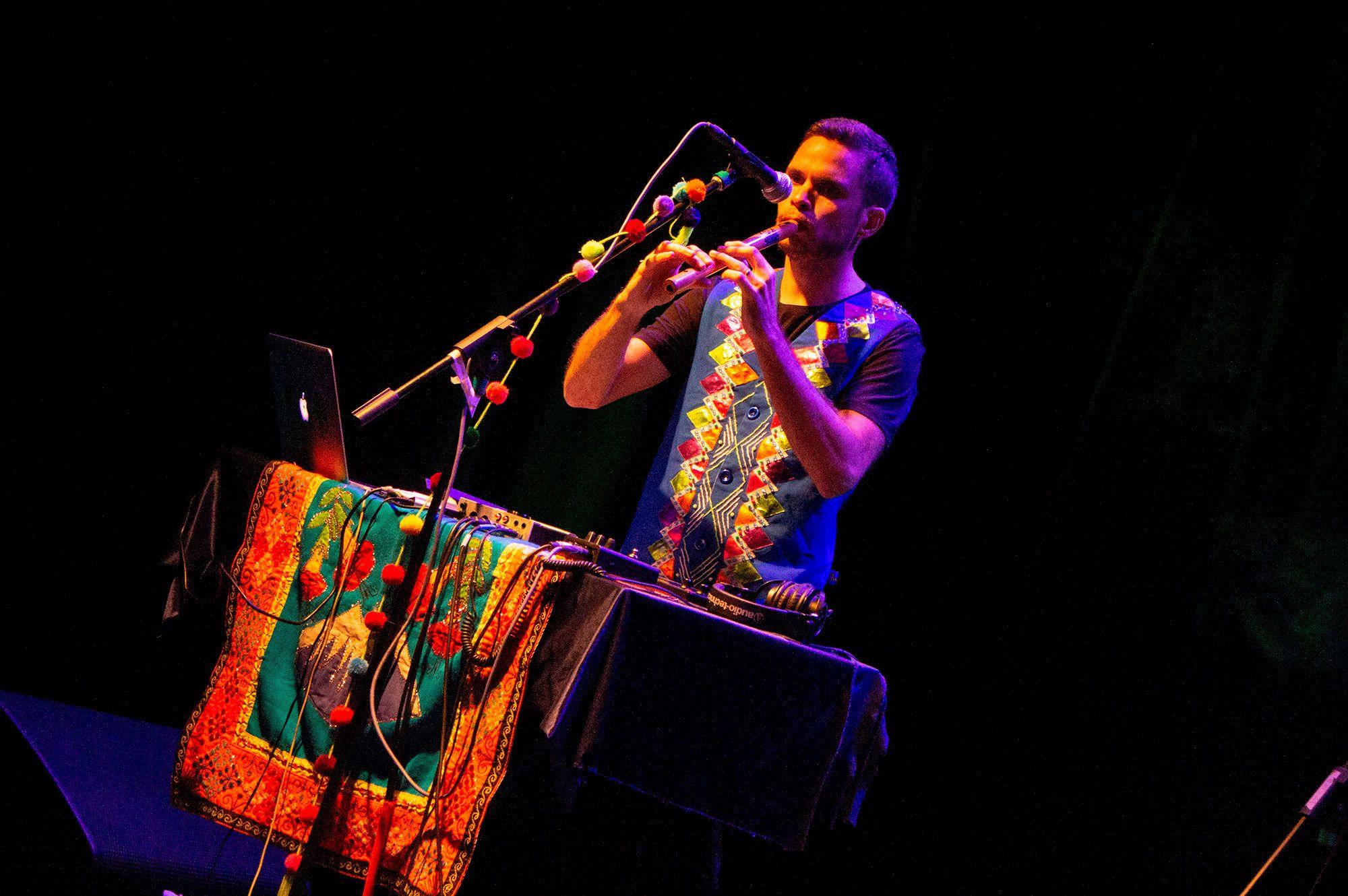Chancha Vía Circuito en el VIII Festival Internacional Muchas Músicas