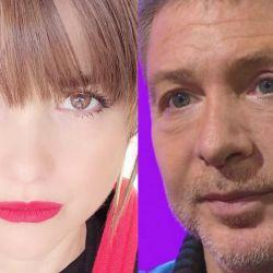 Araceli González y Adrián Suar