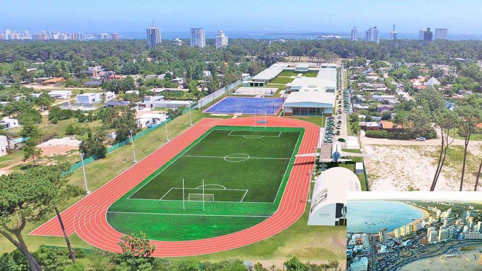 Elite. El International College (IC) de Punta del Este, una de las instituciones que más buscan los argentinos.