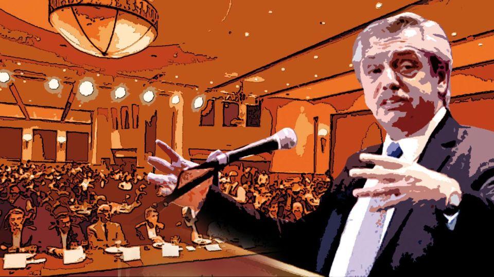 Música para sus oídos. Alberto Fernández disertó esta semana en la Fundación Mediterránea. Se mostró heterodoxo en lo económico, pero prometió pagar deuda sin quita. Macri era el hijo dilecto de un establishment que ahora se siente traicionado y apuesta a un nuevo Bonaparte.