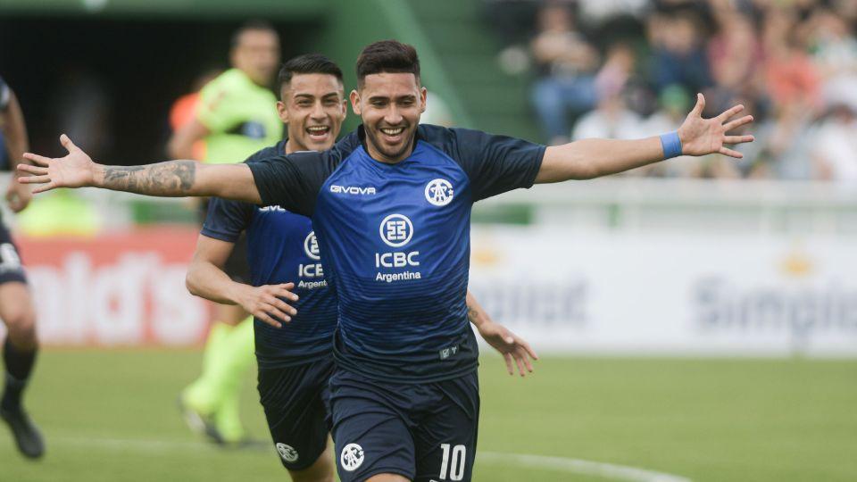 Bustos. El goleador de Talleres fue convocado al seleccionado argentino Sub 23.