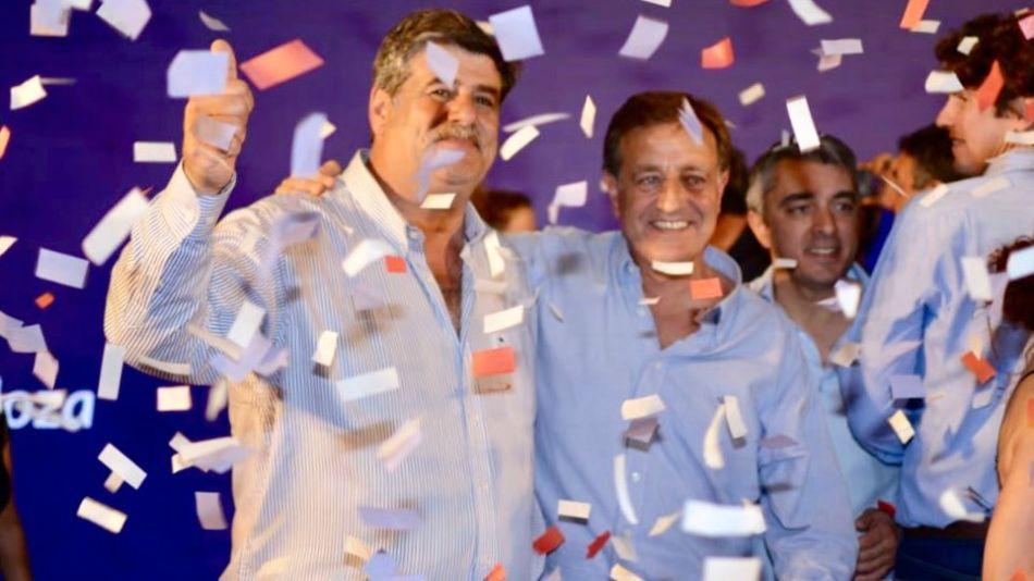 Suárez festejó su triunfo en Mendoza