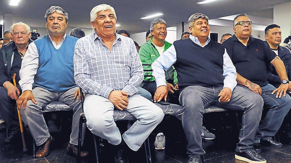 Camioneros. Moyano asumió el miércoles un nuevo mandato en el gremio que maneja desde 1987.