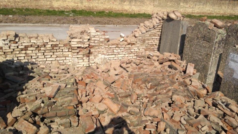 El cementerio de La Tablada fue vandalizado en la víspera del Año Nuevo Judío.
