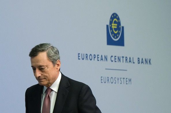 Mario Draghi's leaving soon.